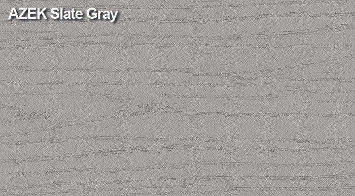 azek slate gray pvc decking