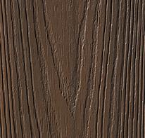overstock latitudes capicorn pvc coated composite decking arabica