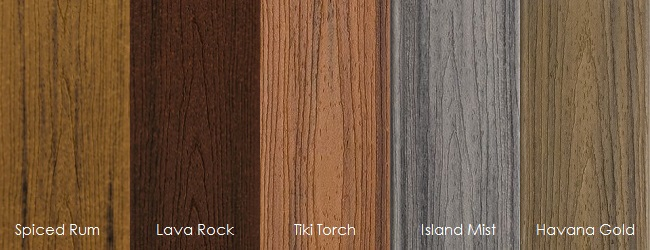 In Stock Pvc Coated Composite Decking Building Materials