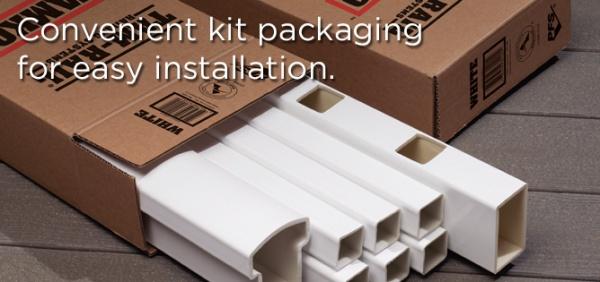 Tam Rail Ii Tamko White Vinyl Railing Deck Patio System