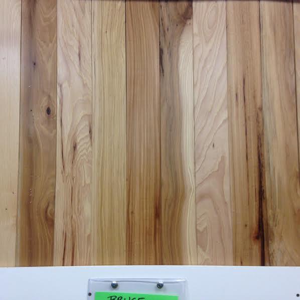 hickory 2 14 bruce natural hickory hardwood flooring prefinished overstock