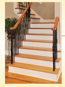 Prefinished Stair Treads Solid Hardwood In Stock Sale1
