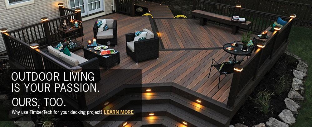 timbertech decking radiancerail