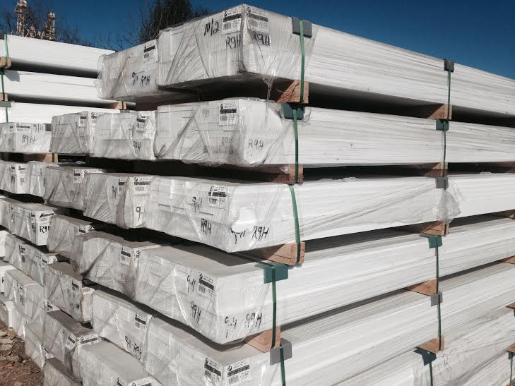 54x4x9 and 54x6x9 pvc trimboard bundles overstock sale