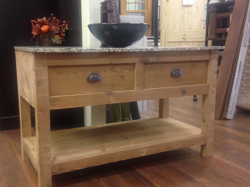 how to make a rustic bathroom vanity amish made locally crafted reclaimed barnwood rustic 26154