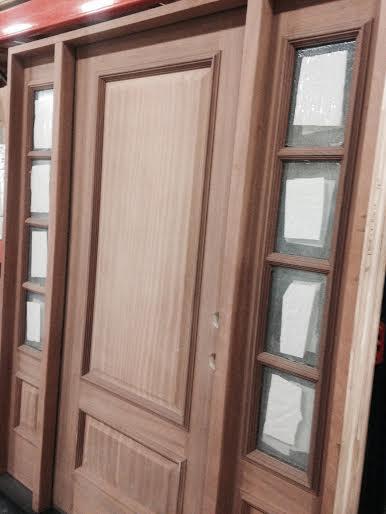 exterior mahogany door w sidelights exterior overstock sale 2 panel square topjpg