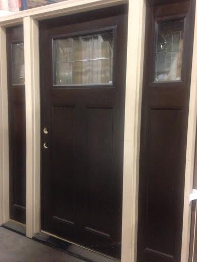Overstock Feather River Exterior Craftsman Door W Sidelights