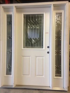 Overstock Feather River Exterior Door W Sidelights 3