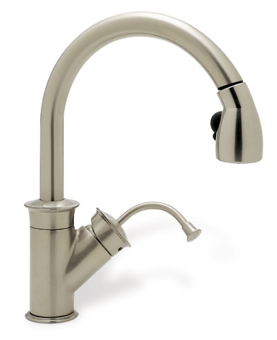 Blanco 157 060 STST LG Overstock Kitchen Faucet