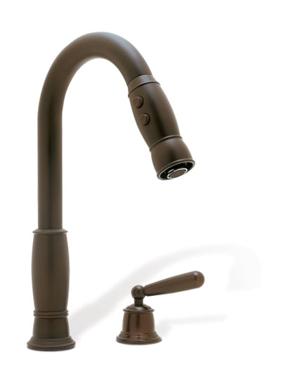 Blanco 157 155 ORB LG Overstock Kitchen Faucet