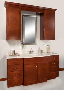 Wolf Classic Dartmouth Crimson Bathroom Vanity All Wood Discount Sale Lancaster Pa Elizabethtown