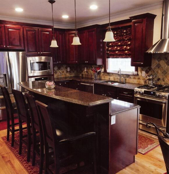 Pacifica Maple TSG Kitchen Cabinets RTA all wood no particleboard ...