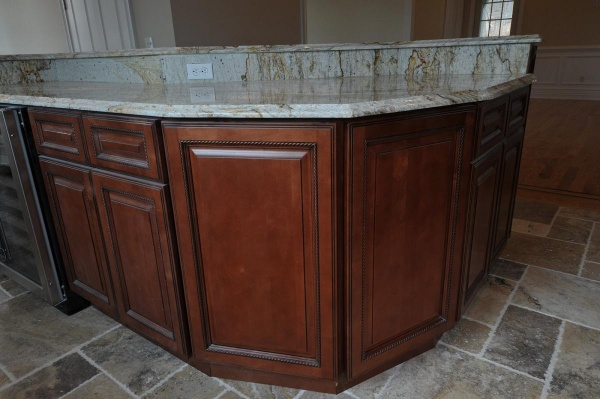 TSG Sienna Rope Kitchen Cabinets All wood no particleboard RTA