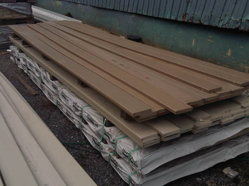 Overstock envisions pvc deck decking sale in stock for Cheap decking material