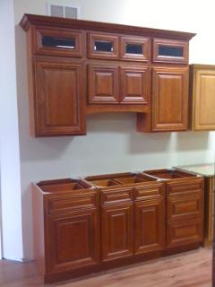 Faircrest Cherry Kitchen Cabinets Showroom Display For Sale Lancaster PA  All Wood Discount Sale