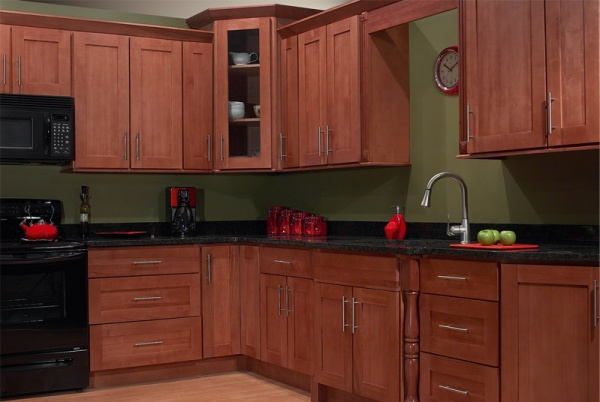 Jsi sturbridge maple kitchen cabinets rta all wood no for Cheapest rta kitchen cabinets