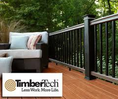 Timbertech deck rail decking lumber railing composite pvc for Vinyl decking materials