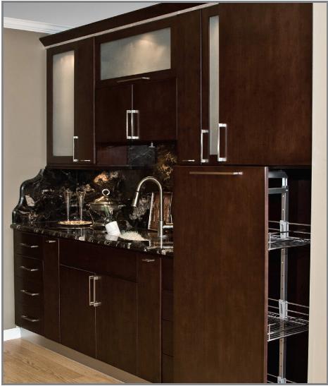 TSG Tribecca Bamboo kitchen cabinets discount sale all ...