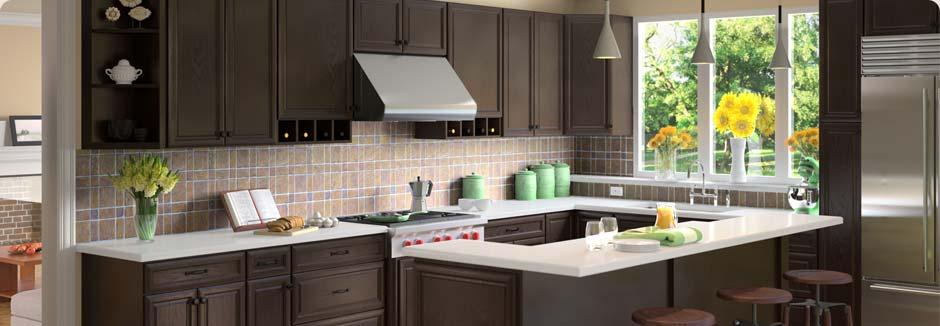 Beau ... Tsg Forevermark Kseries Espresso Kitchen Cabinets Rta All Wood Discount