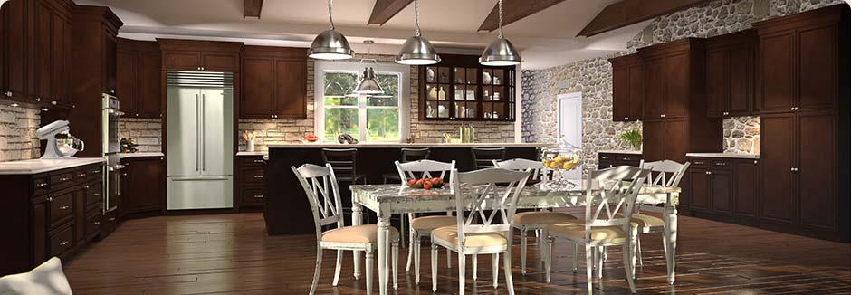 tsg forevermark signature-brownstone kitchen cabinet rta cabinetry discount sale
