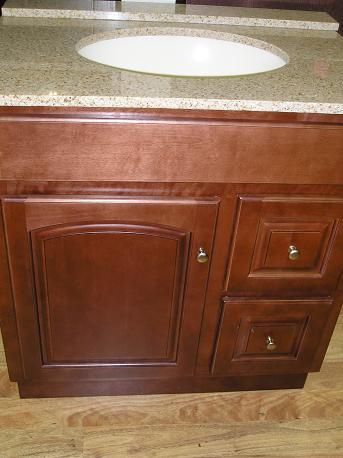 Sunset Maple All Wood Vanity Bathroom Discount Sale In Stock Lancaster Elizabethtown Pa