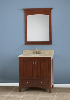 Williamsburg bathroom vanity all wood in stock discount - Discounted bathroom vanities sale ...
