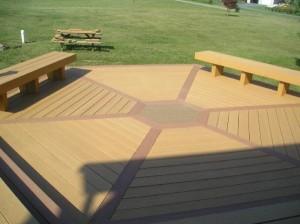Ironstone Building Materials Customer Projects Tamko Evergrain Composite Decking Lumber Lancaster Elizabethtown PA