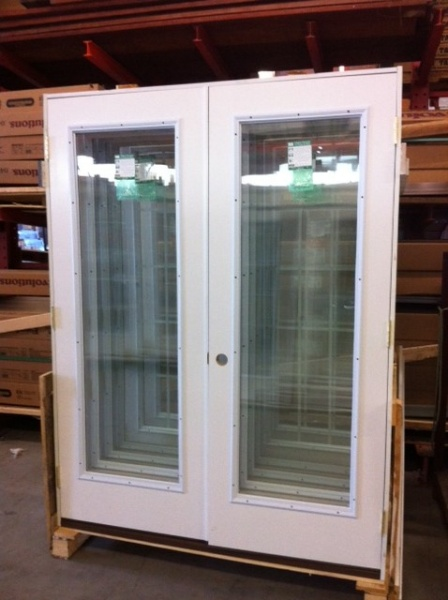 French Door Fiberglass And Steel Exterior Brand New In Stock Sale Discount Lancaster