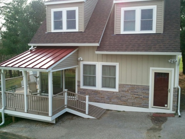 Customer Project Ironstone Building Materials overstock discount sale shingles, siding, stone trim Lancaster Elizabethtown PA