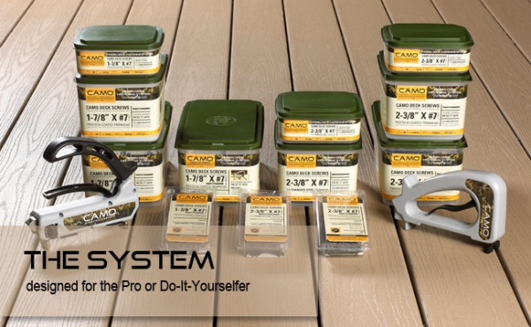 Camo Composite and PVC Hidden Deck Fastening System in-stock discount sale Lancaster Elizabethtown PA
