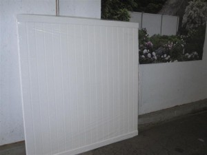 6' x 6' Veranda White Vinyl Privacy Fence In-Stock Discount Sale Lancaster PA