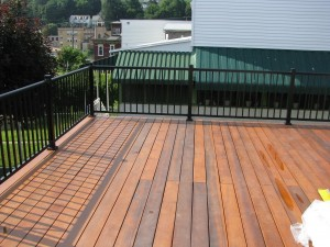 bob reed greenheart 1 ipe decking aluminum railing