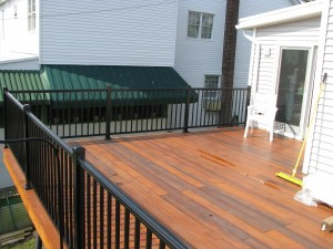 bob reed greenheart ipe decking aluminum railing