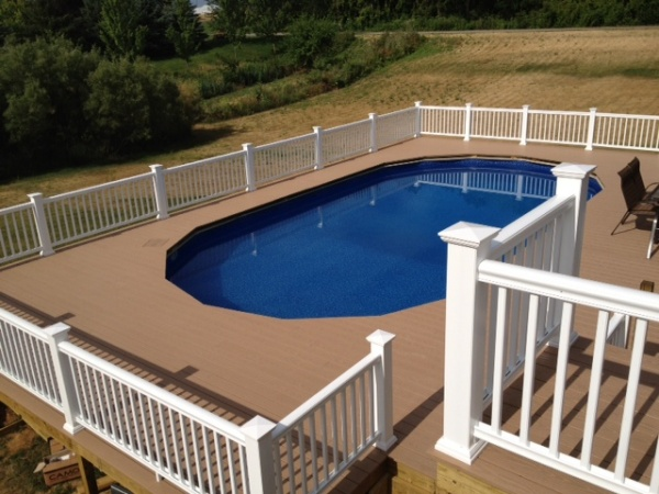 paul bierling weatherbest composite railing guardian elite leather pvc decking