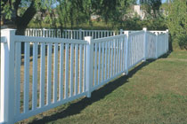 3in picket pool code white vinyl fencing longevity