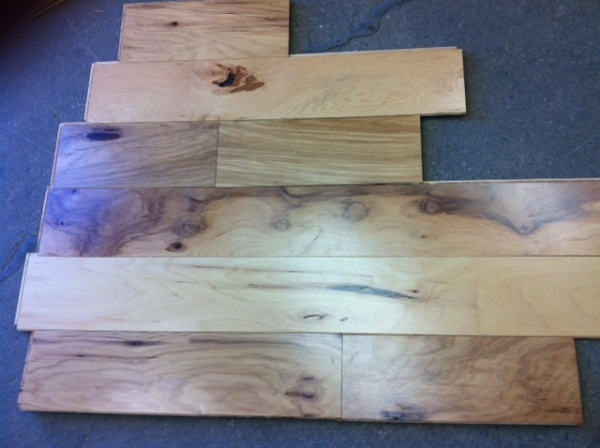Engineered pre finished hickory flooring hardwood click for Hardwood floors lancaster pa