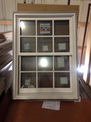surplus andersen frenchwood 30 40 exterior white brand new discount sale lancaster pa2