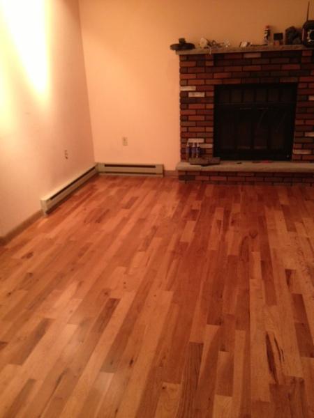 smokey topaz hickory flooring
