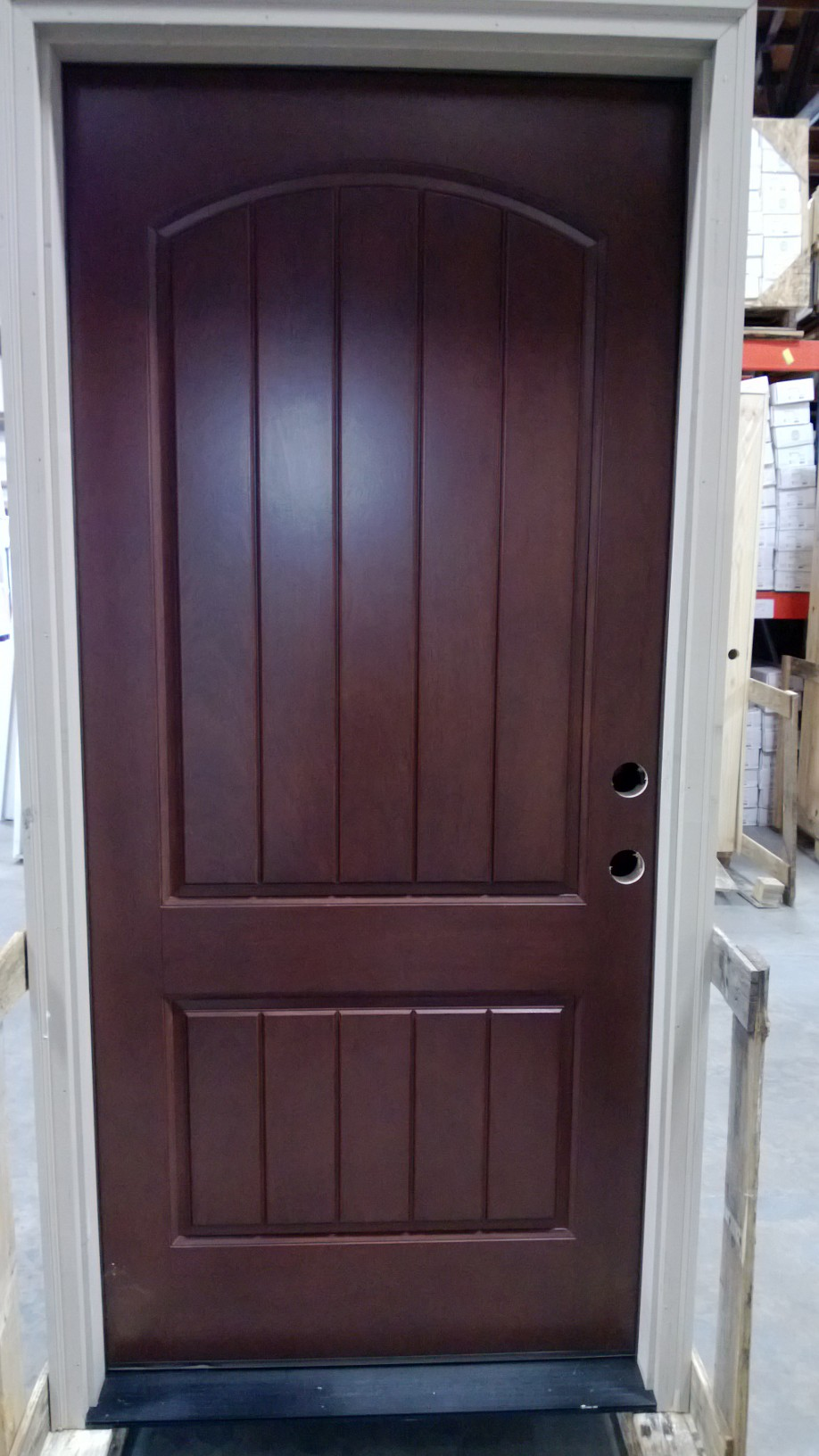 Entry doors discount front entry doors for Cheap front door and frame