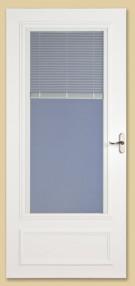 400-17 miniblind larson storm door