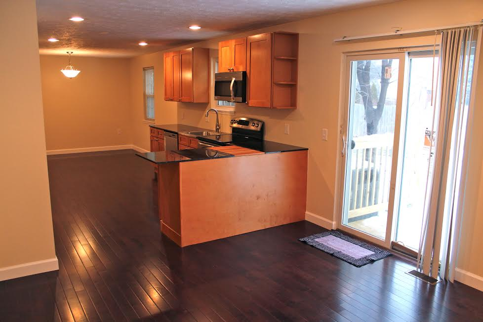 saman kitchen cabinets, granite, flooring1
