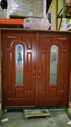 13 Exterior Double Door 6ft Decorative Door Pvc Jamb No