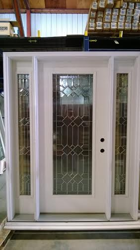 5 Exterior Door W Sidelights Discount Sale Decorative Glass