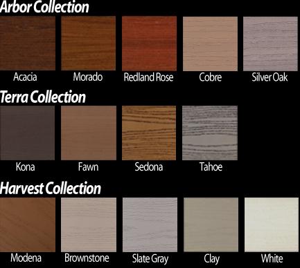 Azek Deck Colors Building Material Supplies