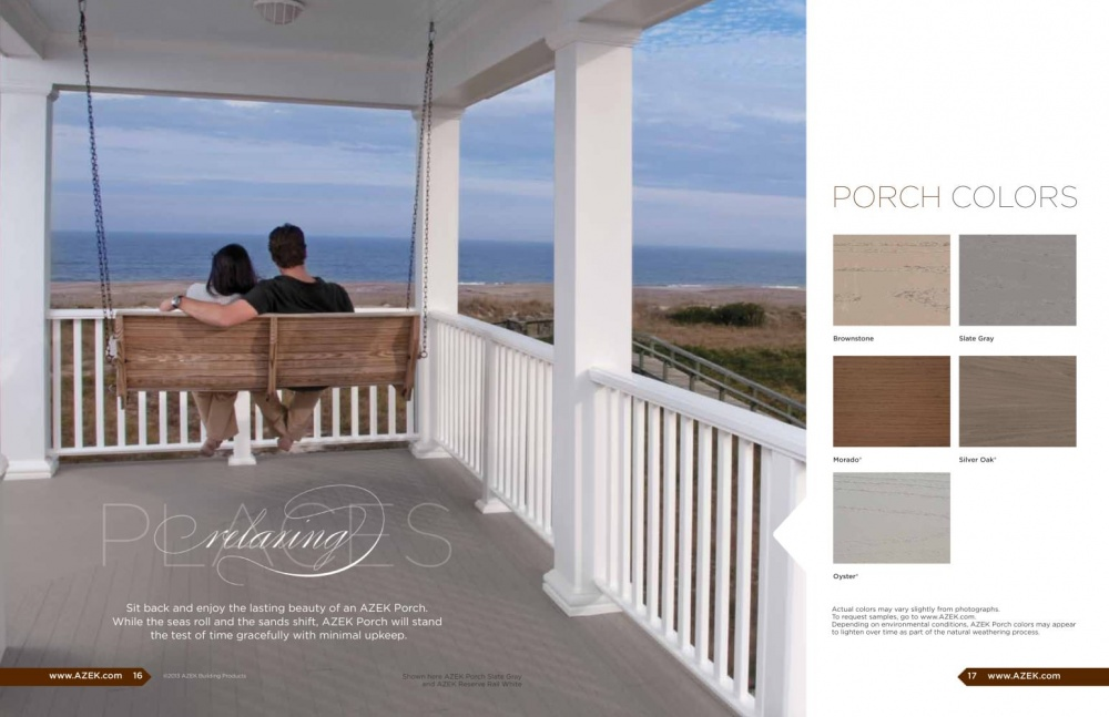 Porch Flooring Building Supplies For Pa Md Amp Nj