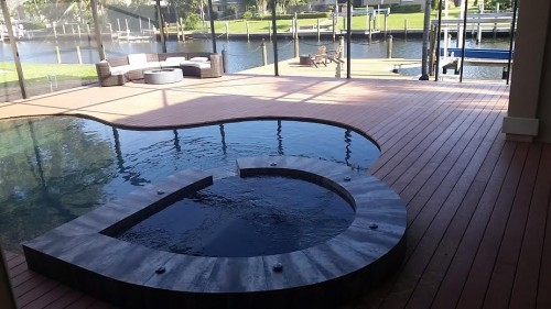 stu bobman azek fawn pvc decking project