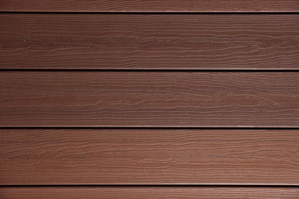 Evergrain envision pvc coated composite decking for Vinyl decking material