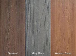 fiberon protect colors pvc coated composite decking lumber overstock discount sale