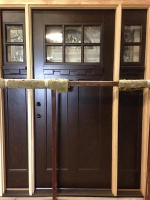 Overstock Feather River Exterior Fiberglass Door Craftsman