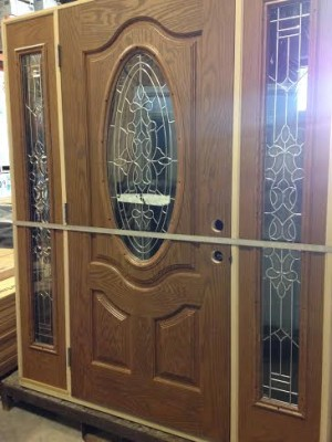 Overstock Feather River Exterior Fiberglass Door